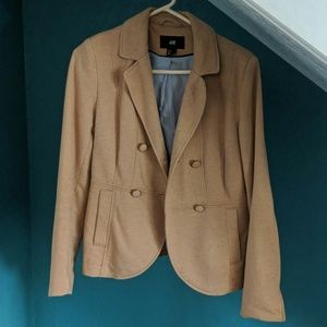 H&M cotton sweater blazer